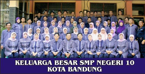 Kepala Sekolah dan Staff Guru SMPN 10 Bandung